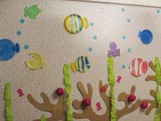 День Рождения Анютки. Подводный Мир | http://www.babyroomblog.ru/