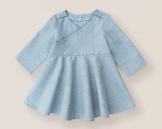 Hope's Hi-Low Dress PDF Pattern Sizes 6/12m to 8 Kids   Etsy Hi Low Dresses, Simple Dresses, Girls Dresses, Pdf Sewing Patterns, Dress Patterns, Kids Patterns, Clothes Patterns, Sewing Ideas, Simple Dress Pattern