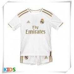 Cheap Real Madrid Home Kids Football Kit Short Sleeve (+ Short pants) Football Socks, Football Shirts, Real Madrid Football Kit, Liverpool, Kids Football Kits, Uefa Champions, James Rodriguez, Zinedine Zidane, Isco