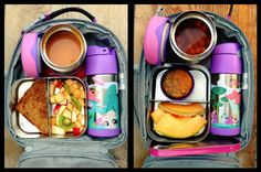 Lunch ideas for all ages...what a great way for my kids to eat healthy hearty meals :)