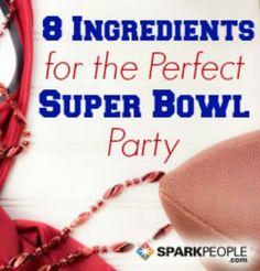 Make yours the party to be at this year with these entertaining tips for game day! | via @SparkPeople #food #recipe #football