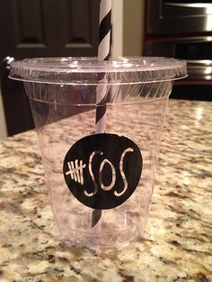 Personalized 5SOS Party Cups ~ 5 Seconds of Summer on Etsy, $14.99