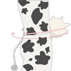 How to Make a Cow Costume: 7 steps (with pictures) - wikiHow