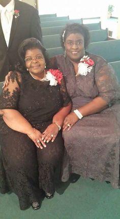 Morris wedding...Verna & Bettye
