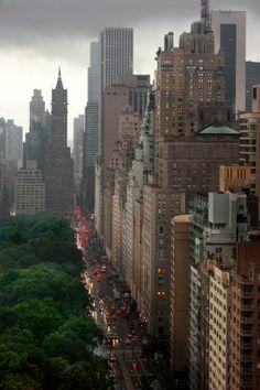 Central Park South, New York City, New York by Joseph O. Holmes
