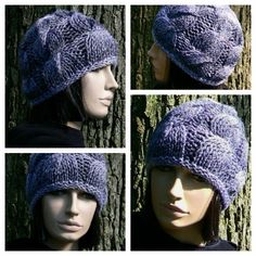 Womens Cable Slouchy Slouch Hat in Shades of by mckelveydalton, $35.00