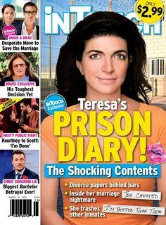 Teresa Giudice Prison Diary - Divorce From Cheating Joe Giudice and Marriage Nightmare