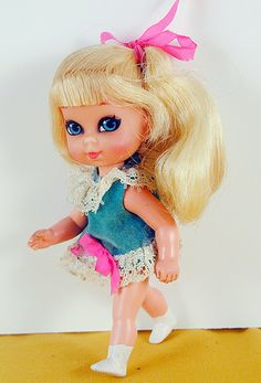 Ms. Bubblegum...I had this Liddle Kiddle doll.  Still have her.