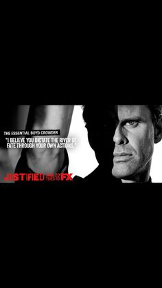 Boyd Crowder. Justified. My favorite character, such great quotes.