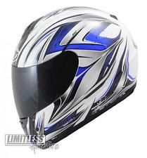 MT Thunder Full Face Helmet - Motorcycle Motorbike Scooter Crash Visor ACU