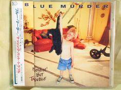 CD/Japan- BLUE MURDER Nothin' But Trouble +1 bonus trk w/OBI RARE John Sykes #MelodicHardRock