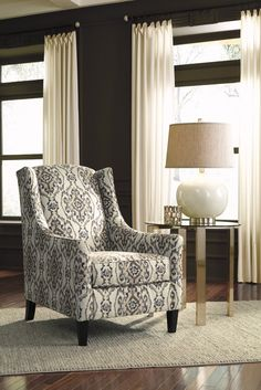 Tibbee - Slate - Accent Chair | furniture | Pinterest | Slate