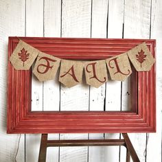A personal favorite from my Etsy shop https://www.etsy.com/listing/463188189/fall-banner-burlap-banner-custom-banners