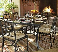 Metal Garden Furniture & Metal Outdoor Furniture | Pottery Barn