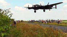 Goosebumps as Lancaster bomber comes in low on approach to RAF Waddington Airshow. Lancaster Bomber, Royal Air Force, Air Show, Military Aircraft, High Speed, World War Ii, Wwii, Fighter Jets, Aviation