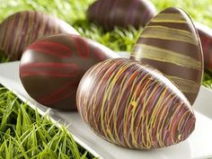 receta huevos de pascua chocolate