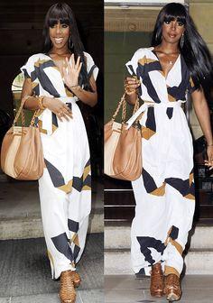 Kelly Rowland makes bangs look fabulous!
