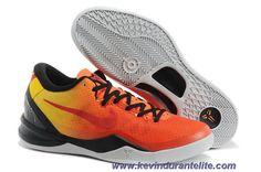outlet store c1aa8 1d692 Discounts 555286 332 Sunset Glow Nike Kobe 8 VIII System GC Orange Tour,  Red Tour