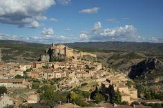 Alrededores de Barbastro desde el Gran Hotel Ciudad de Barbastro. Visita turística al pueblo de Alquézar.