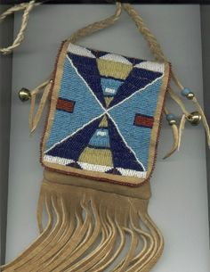 Real Native American hand beaded bags made to order.  For the boho chick who has everything.  Truly stunning pieces of art.