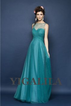 Chosen for color and the back of the dress. Not sure if it's up your alley, but whatevs. lady dress/bridesmaid dress/wedding dress/sweetheart by YIGALILA, $99.00