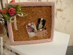miniature dollhouse corkboard