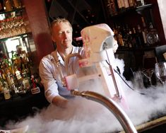 The world's finest liquid nitrogen ice cream and cocktail equipment.