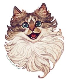 norwegische waldkatze norwegische waldkatze norwegische norwegische waldkatze katze delivers online tools that help you to stay in control of your personal information and protect your online privacy. Animal Sketches, Animal Drawings, Art Sketches, Norwegian Forest Cat, Warrior Cats, Cat Drawing, Pretty Art, Cat Art, Pixel Art