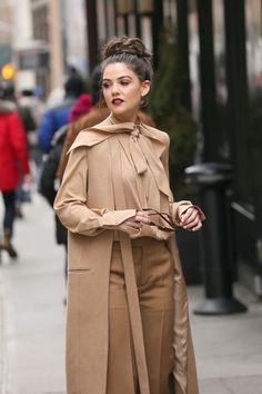 Danielle Campbell  #DanielleCampbell Out in Manhattan for New York Fashion Week 13/02/2017 Celebstills D Danielle Campbell
