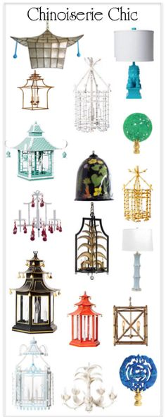 Chinoiserie lighting