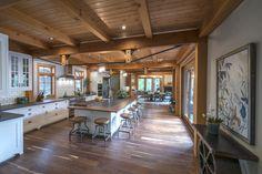 Timber Frame Timber Frame Home Interiors | New Energy Works
