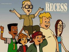 Recess! - Disney really captured the essence of childhood with this cartoon series.