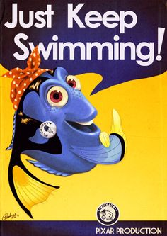 Dory can do it! (If only she can remember what to do!)