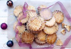 Breton Biscuits (Sablés Bretons) - butter, sugar, egg, flour, salt **COOKIE CUTTER