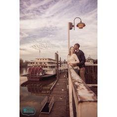 Old Town Sacramento Engagement Photo #madewithstudio