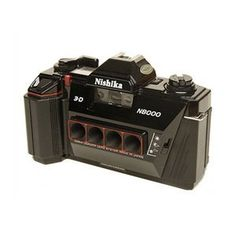 Nishika 35MM N8000 3-D Camera by Nishika. $14.99. Long considered the ugly duckling of the consumer lenticular cameras, the Nishika is now in high regard as the most versatile of the breed, because the camera features three aperature settings, unlike other lenticular cameras, which are only point and shoot cameras.  And now as technology is making personal lenticular print making possible and affordable, there is a rush to get a camera or two before the price of a lenticula...