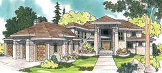 The Belle Vista Mansion House Plan