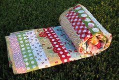 cute baby quilt idea by Lori Holt on Etsy