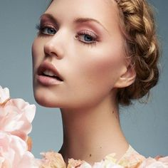Not a fan of heavy makeup? Try this look for your big day.