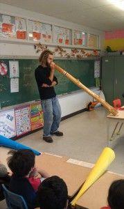 Fabrication d'un didgeridoo | École primaire Bourgeoys-Champagnat