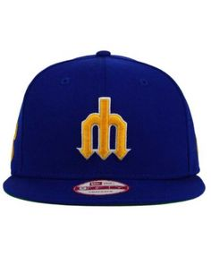 sports shoes 10cd5 84f89 New Era Seattle Mariners 2 Tone Link Cooperstown 9FIFTY Snapback Cap    Reviews - Sports Fan Shop By Lids - Men - Macy s