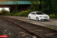 Acura TSX w/ Vossen wheels. Road boss.