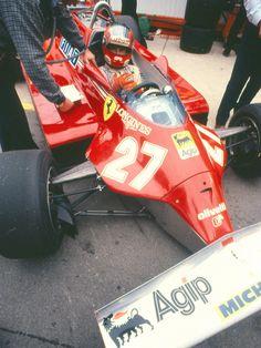 Gilles Villeneuve ...