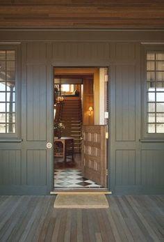 Dutch door, great color,