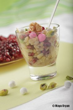 A classic Lebanese Dessert prepared for Baby's first tooth! by Maya Oryan