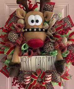 Elegant Fall Wreaths, Winter Wreaths, Xmas Wreaths, Wreaths For Front Door, Wreath Ideas, Diy Wreath, Christmas Crafts, Christmas Decorations, Merry Christmas Sign