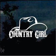 Country Girl Truck, Country Girl Life, Country Girls, Truck Stickers, Truck Decals, Bumper Stickers, Deer Wallpaper, Trucks And Girls, Truck Accessories