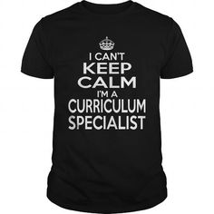 CURRICULUM SPECIALIST Keep Calm And Let The Handle It T Shirts, Hoodie Sweatshirts