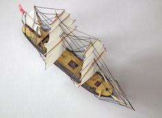 Bark Otago mikromodel 1:500 http://mojeminiatury.waw.pl/bark-otago-1500/