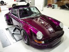 PictOfTheDay: Purple 1975 Porsche 911 Targa by RWB | automotive99.com